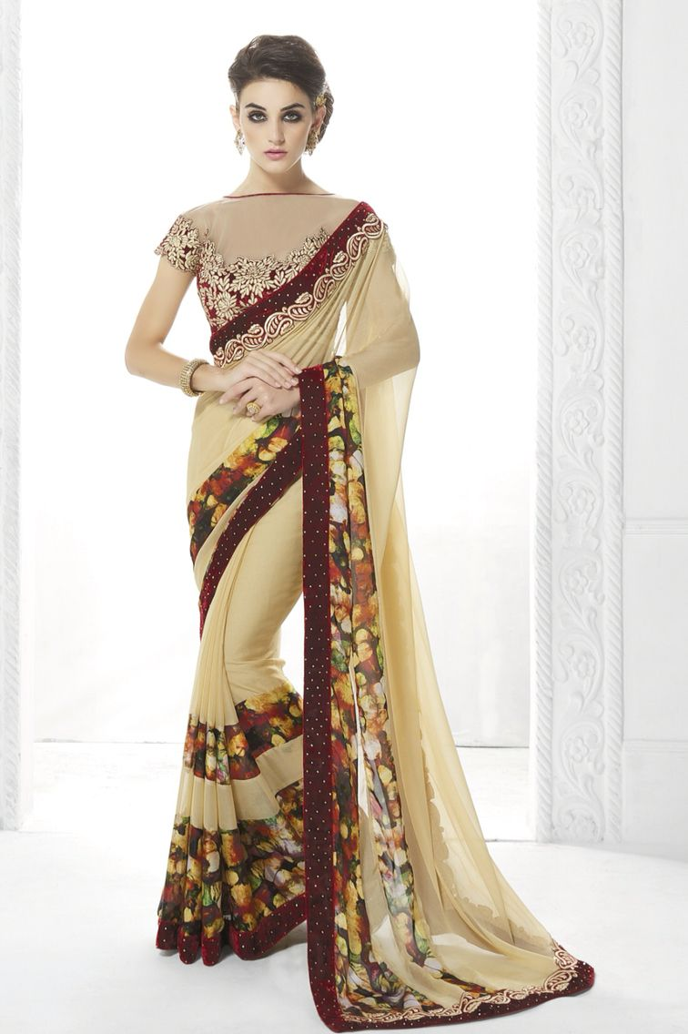 Velvet saree images velvet  sarees  pinterest