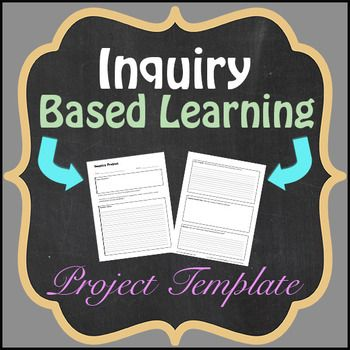 Inquiry Based Learning (Template) Inquiry based learning - inquiry template