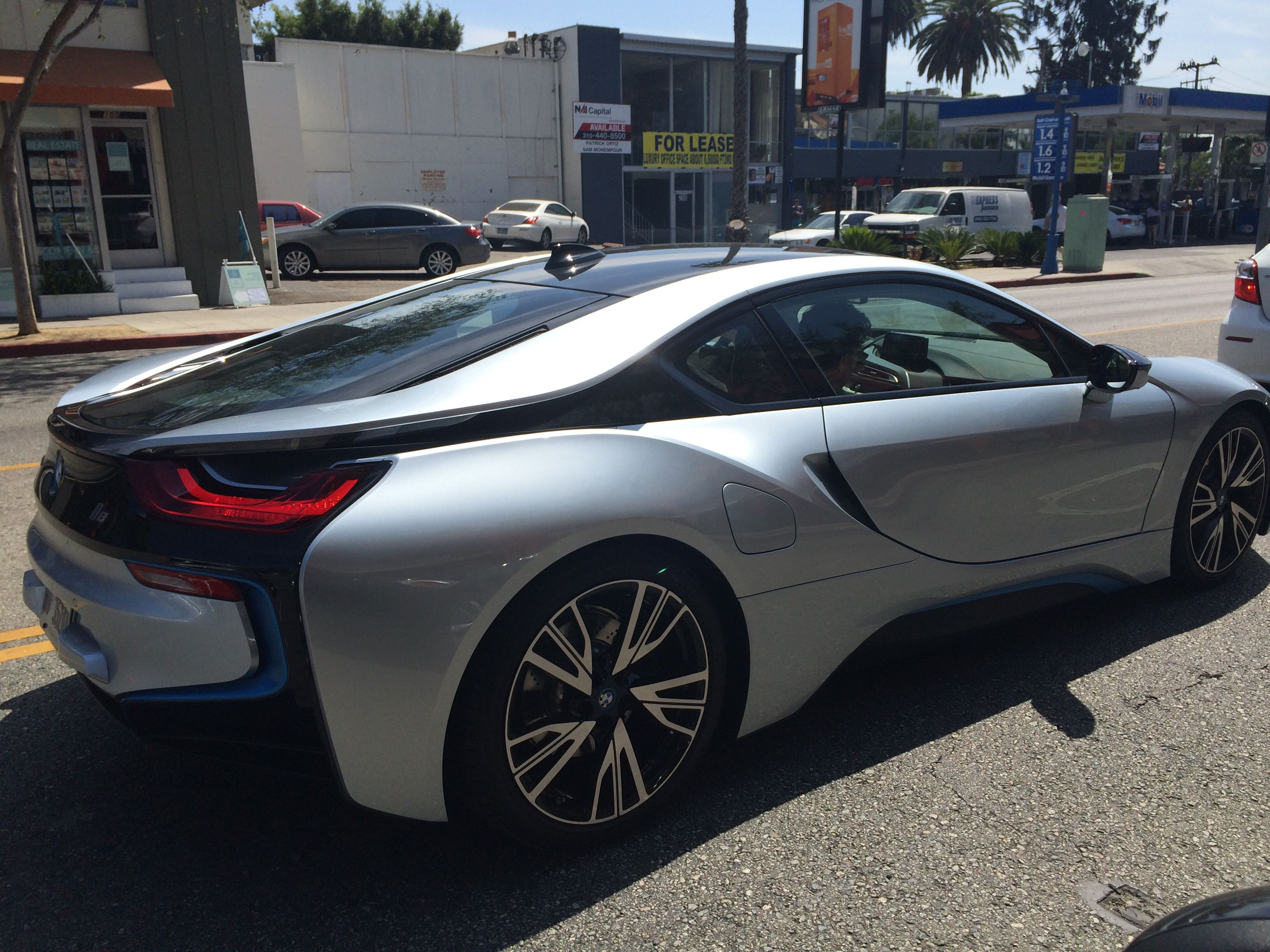 BMW i8 on Santa Monica Blvd Dope Motors Pinterest