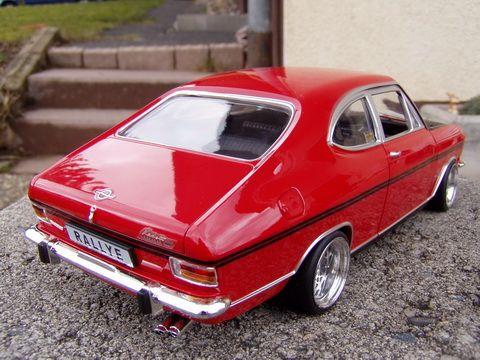 Opel Kadett B Umbau Tuning 118 echt Alufelgen BBS