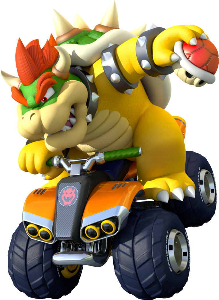 Bowser Kart 8 Poster Mario Kart 8 By Drybowzillajp On Deviantart Super Mario Art Mario Kart 8 Mario Bros