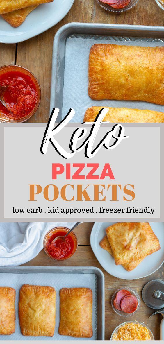 Keto Pizza Pockets - Perfect Freezer Friendly Recipe for Kids and Big Kids
