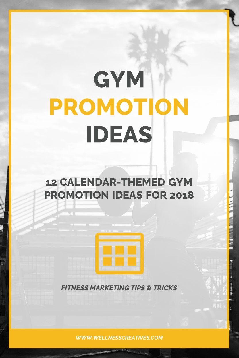 Gym promotions 12 calendarthemed gym promotion ideas