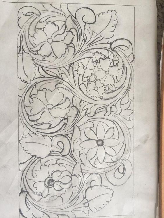 drawing sheridan style patterns