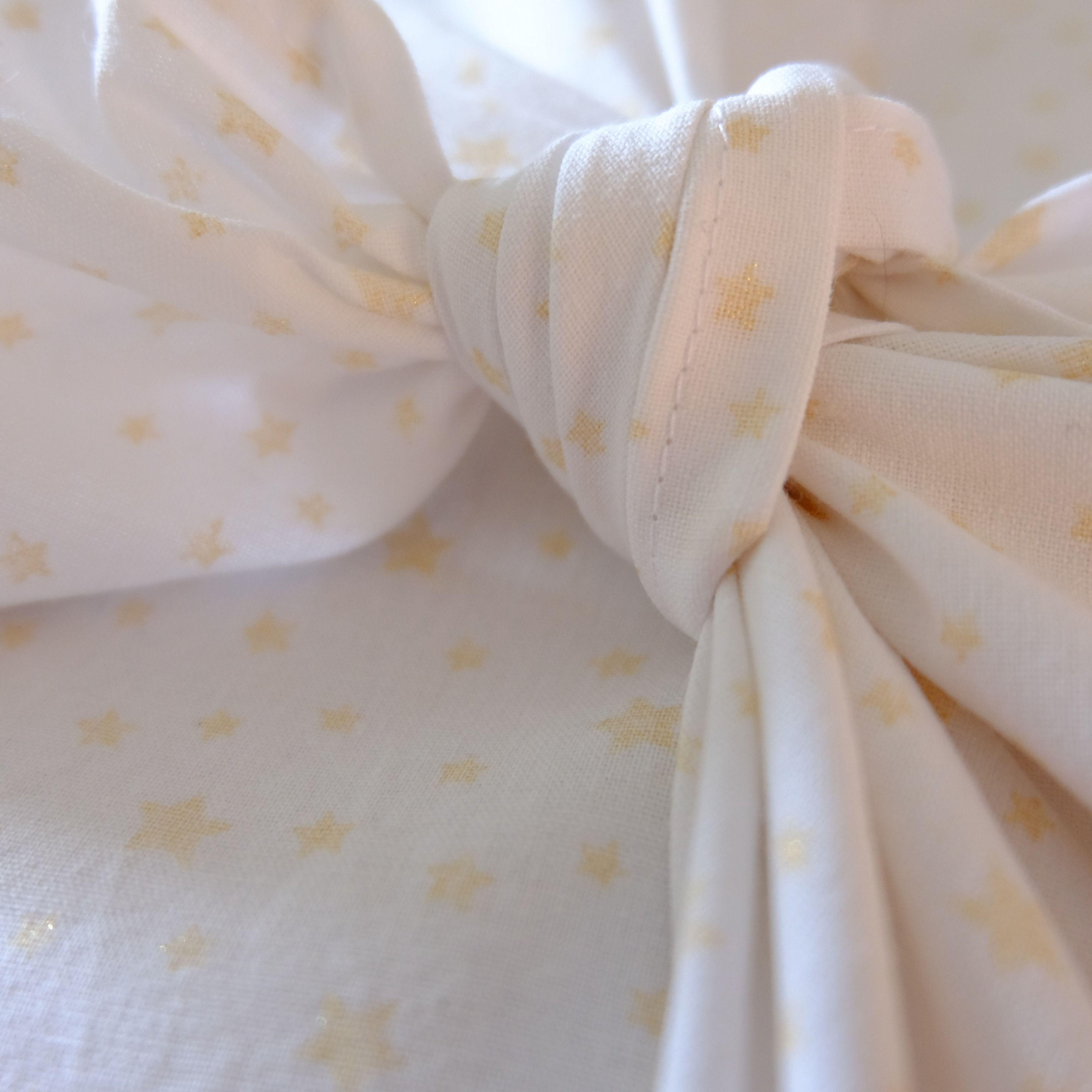 Furoshiki - Emballage cadeau tissus - 58x58 cm - Zéro Déchet
