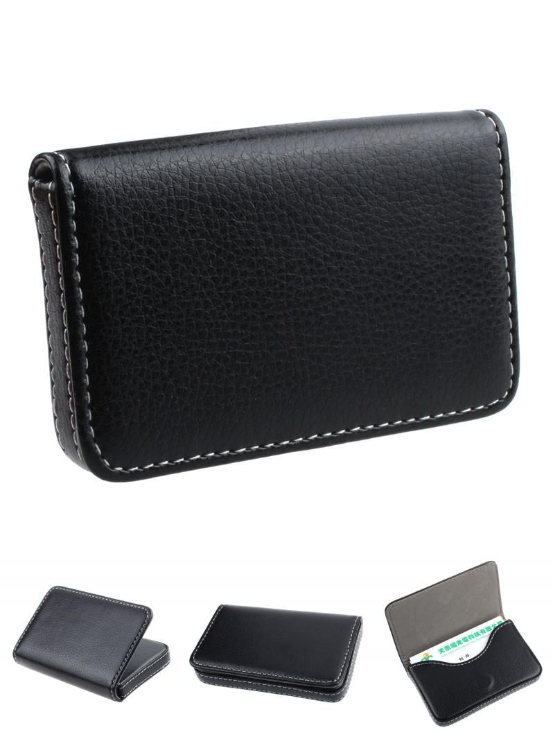Visit to Buy] Wallet For Credit Cards Pu Leather Exquisite Magnetic ...