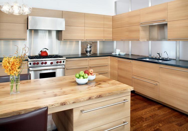 Meubles de cuisine en bois une solution abordable et joli