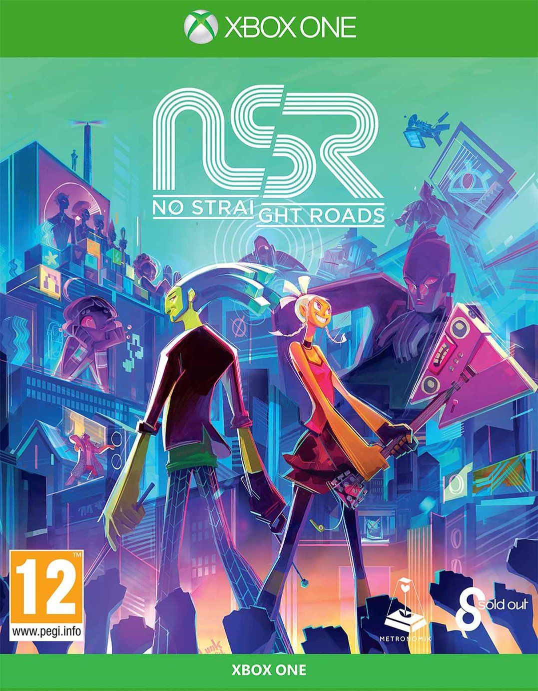 No Straight Roads Collector's Pack Xbox One Game PreOrder
