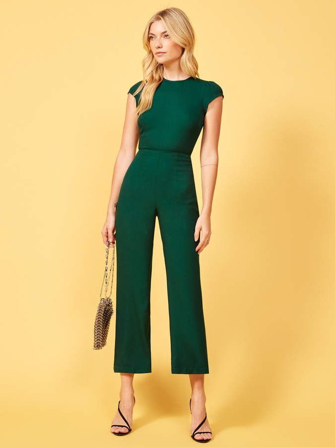 906e7a3f51c0 Reformation Mayer Jumpsuit in 2019