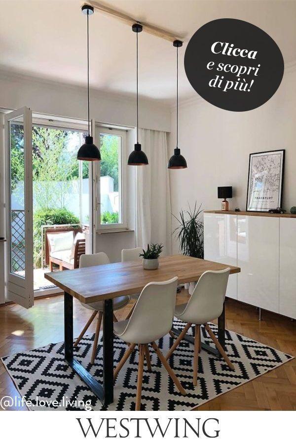 Sala da Pranzo di Design nel 2020   Sala da pranzo, Idee ...