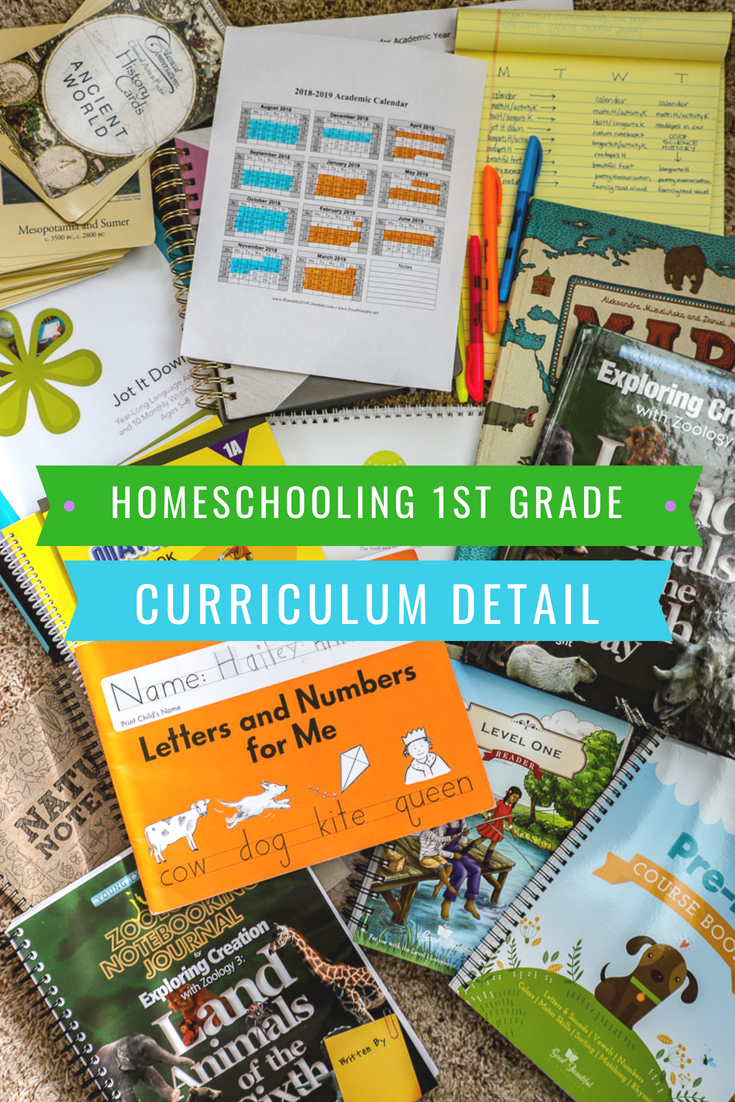 Photo of Homeschooling First Grade: Our Curriculum and Plans for the Year | A Healthy Slice of Life