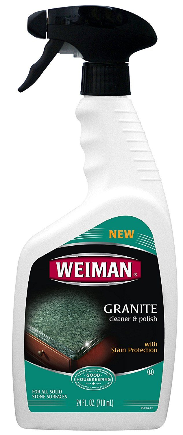 Amazon Com Weiman Granite Cleaner And Polish 24 Ounce 2 Pack