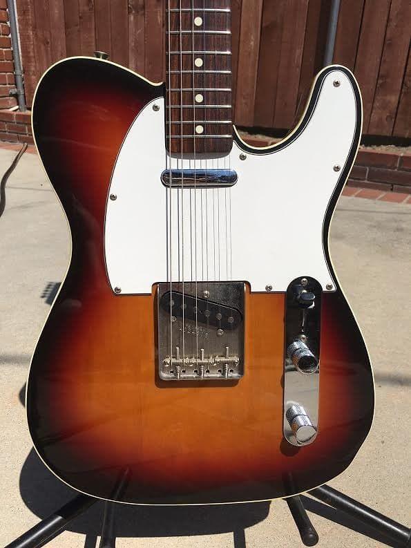 Fender 1986-87 Telecaster Custom made in Japan