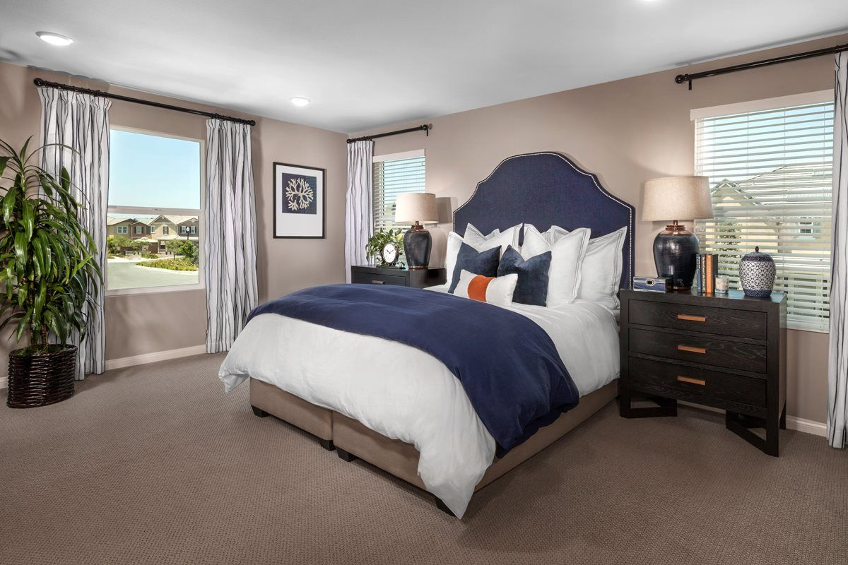sweet dreams are a breeze in this gorgeous master bedroom kb home