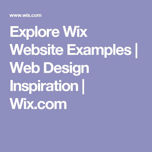 Explore Wix Website Examples Web Design Inspiration Wix Com Wix Website Examples Web Design Inspiration Wix Website