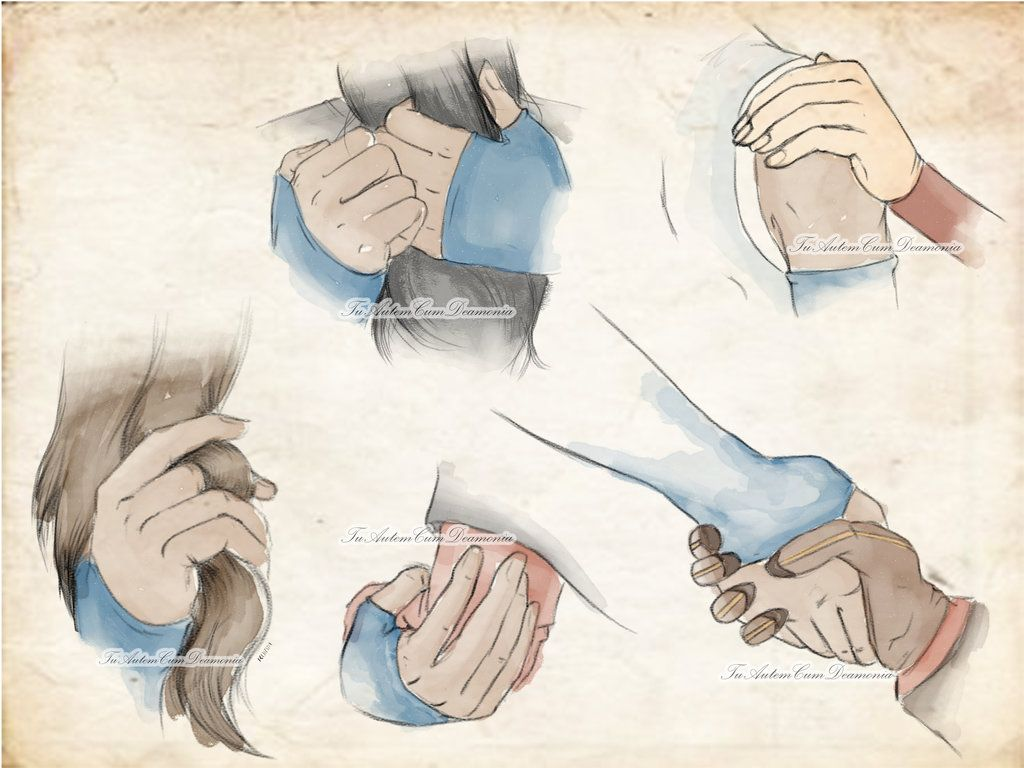 Sketchy Hands (Korrasami) by TuAutemCumDeamonia on DeviantArt