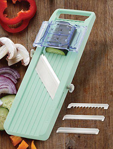 Benriner Japanese Mandoline Slicer Green Mandolin Slicer