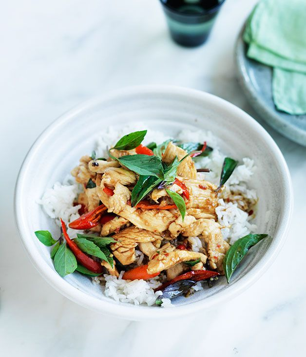 This quick and easy thai stir fry packs a spicy punch use fresh food this quick and easy thai stir fry forumfinder Image collections