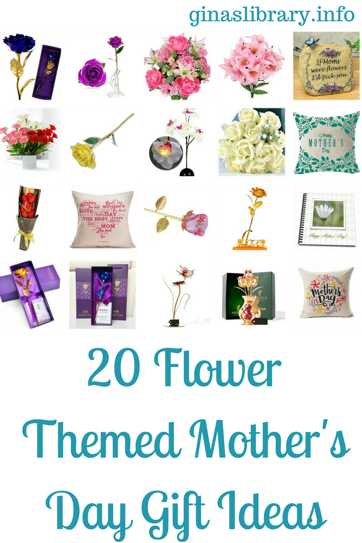 Flowers are always a timeless gift idea for any occasion. This is especially true for Mother's Day. I also shared gift ideas for jewelry items. Here are 20 flower ideas for Mother's Day.