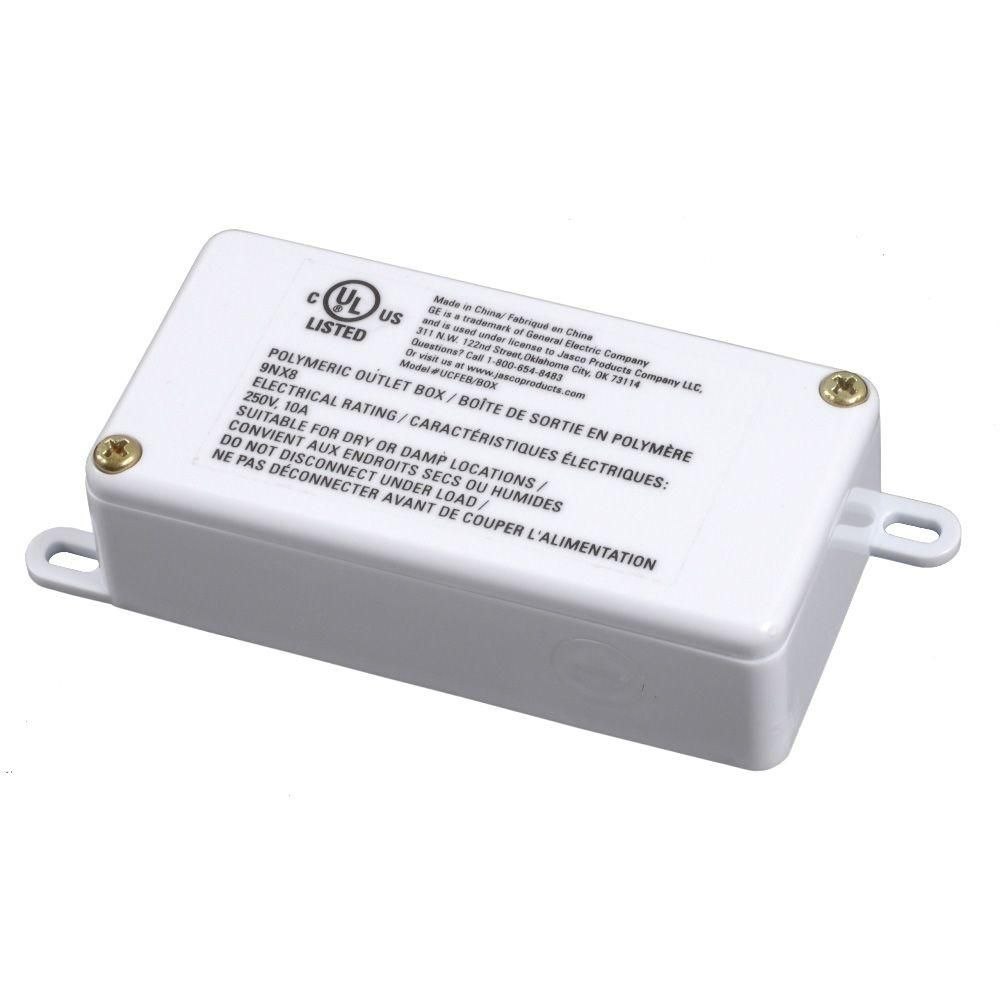 Ge Direct Wire Linkable Junction Box 32612 The Home Depot Junction Boxes Junction Directions