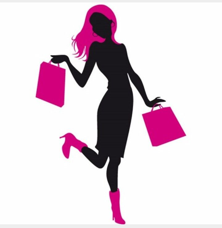 b7c3cc03db23 Silhouette of everything Woman Silhouette, Dress Silhouette, Silhouette  Vector, Shopping Pictures, Consignment