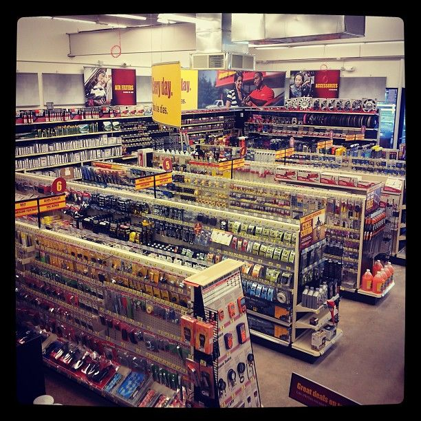 Sales Floor Of The New Advance Auto Parts Store Set To Open