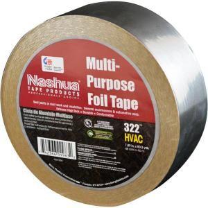 Nashua Tape 322 1 57 64 In X 50 Yds Aluminum Foil Tape 3220020500 At The Home Depot Foil Tape Foil Wall Decor Tape