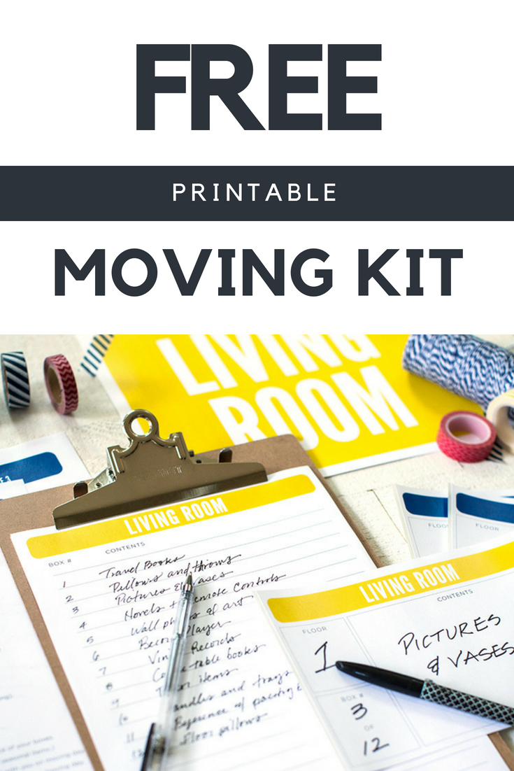 photo regarding Stay Organized With a Printable Moving Checklist known as The Best Shifting List + Absolutely free Relocating Printables Package