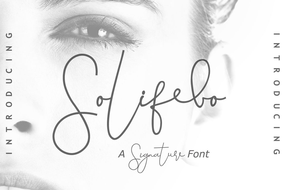 Solifebo (Font) by leamsign