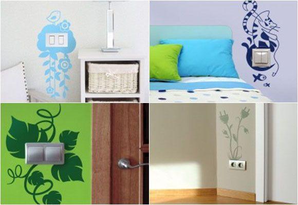 Interruptores de luz interruptores luz pinterest - Pasos para pintar una pared ...