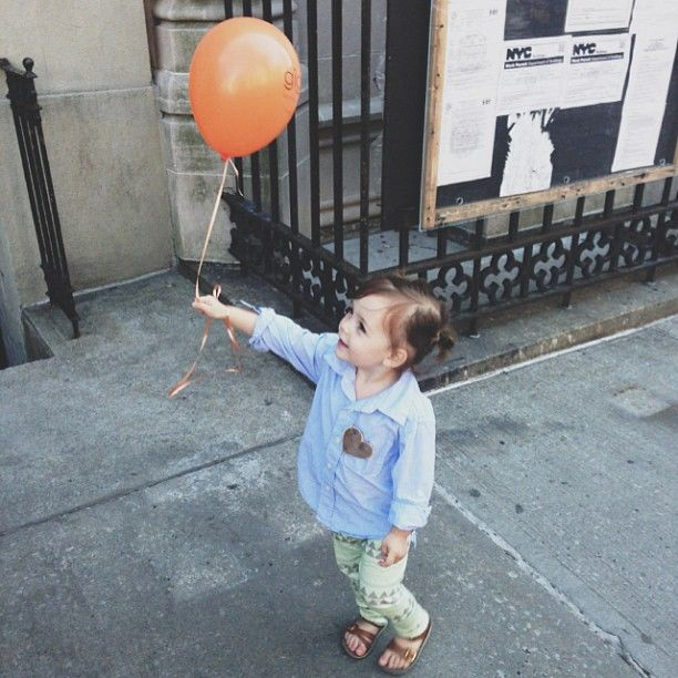 And her day was made. #balloon - @Tamara Tucker- #webstagram