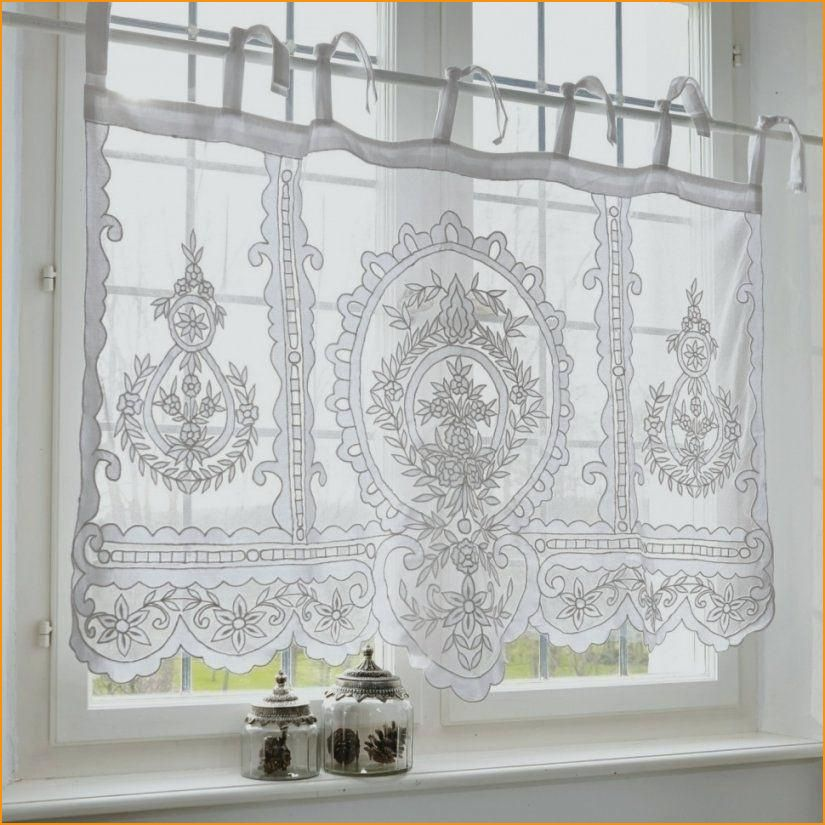 13 Luxurios Scheibengardine Landhausstil In 2020 Cottage Curtains Diy Curtains Girls Bedroom Curtains