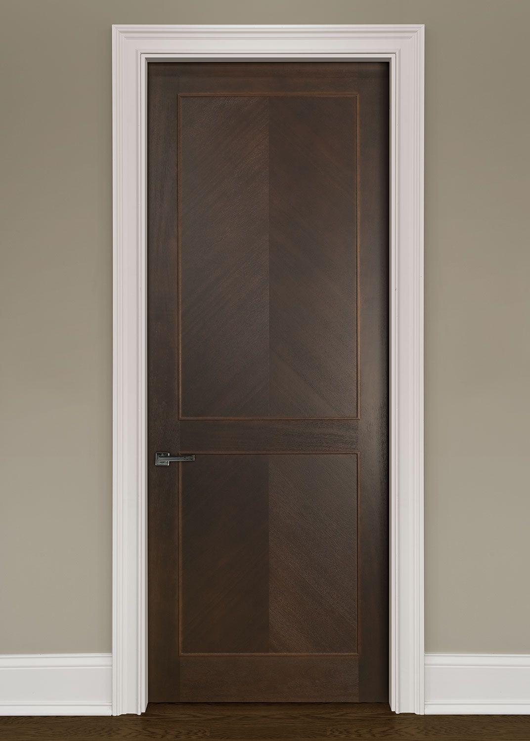 Modern Mahogany Bedroom Furniture: Modern Mahogany Solid Wood Front Entry Door