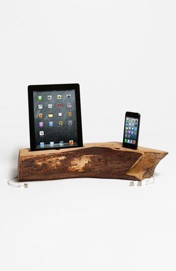 Dock Artisan iPhone 5 & iPad 4 Cedar Docking Station available at #Nordstrom