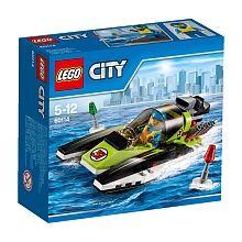 """LEGO City - Barco de Corrida - 60114 - LEGO - Toys""""R""""Us"""