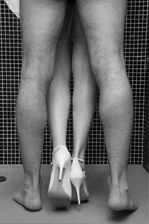 couple sex heels
