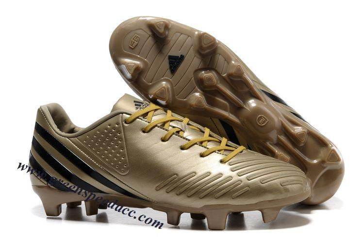 new product 520c9 bc8f5 Adidas Predator LZ TRX FG - Gold-Black