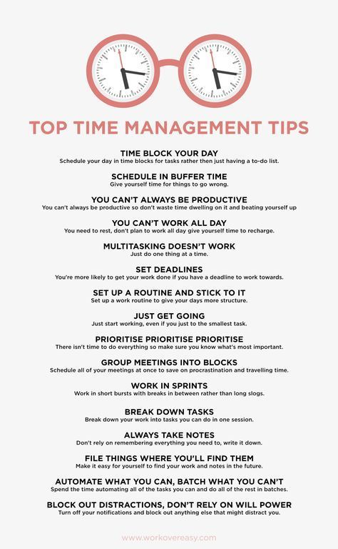 Time Management for College - College Study Smarts