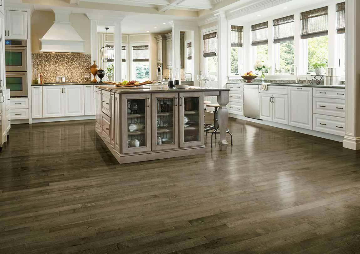 Kitchen in 2020 Hardwood in kitchen, Living room