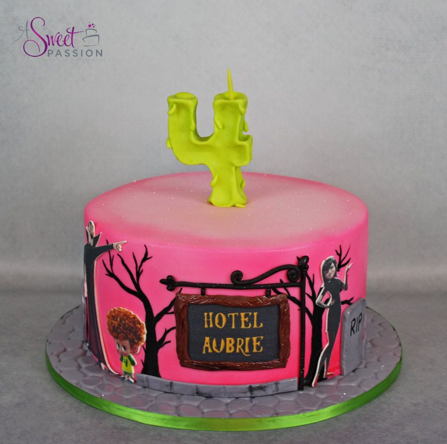Hotel Transylvania Cake Sweet Passion