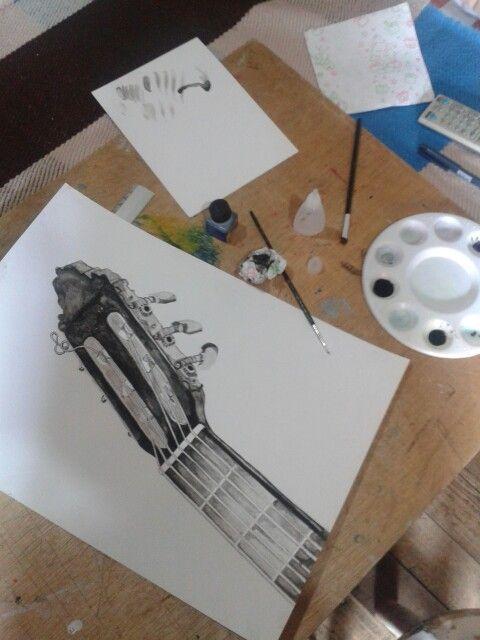 Clavijero tinta china