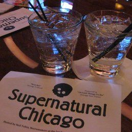 Supernatural Chicago - Chicago, IL, United States. Gin and tonic