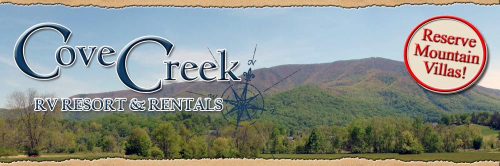 5 Star Luxury Rv Park In The Smokies Cove Creek Rv Resort Offers Luxury Rv Living With An Un Great Smoky Mountains National Park Rv Parks Gatlinburg Camping