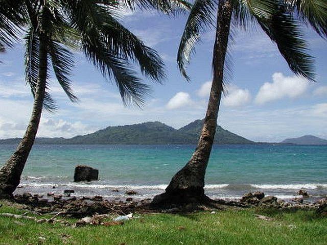Fefan Island Federated States Of Micronesia Island Ocean