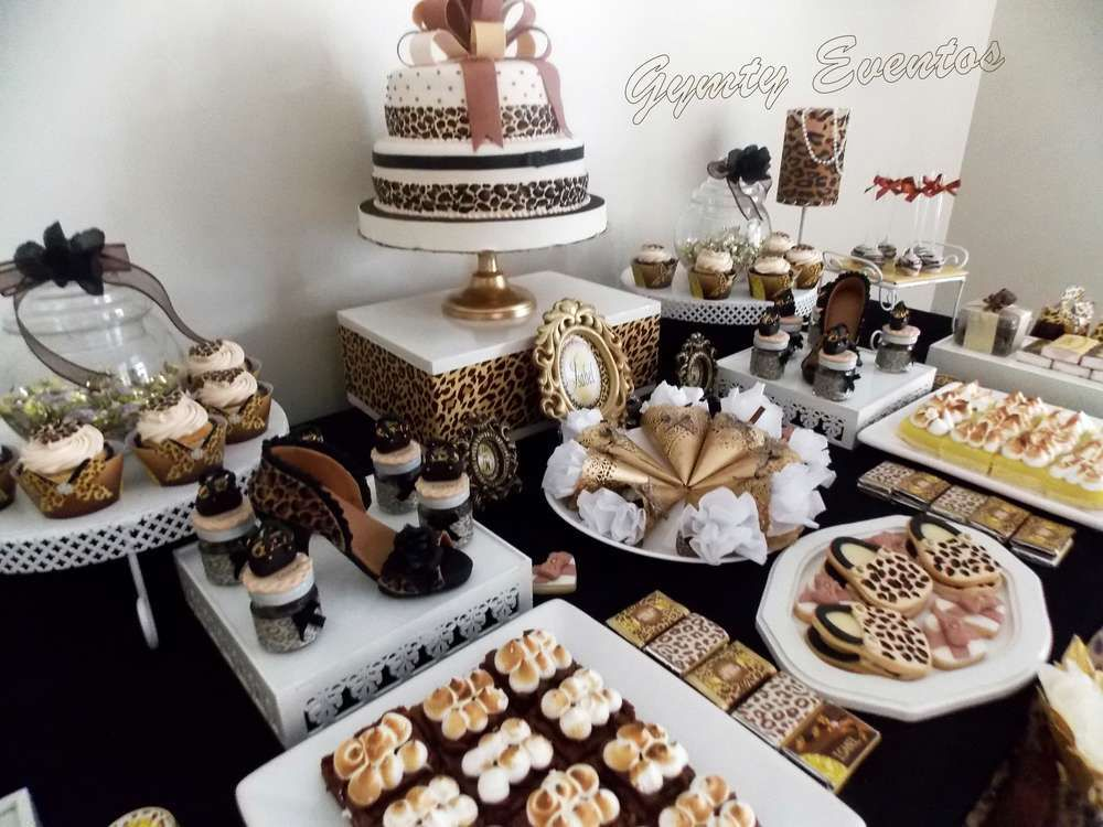 Leopard Birthday Party See More Ideas At CatchMyParty