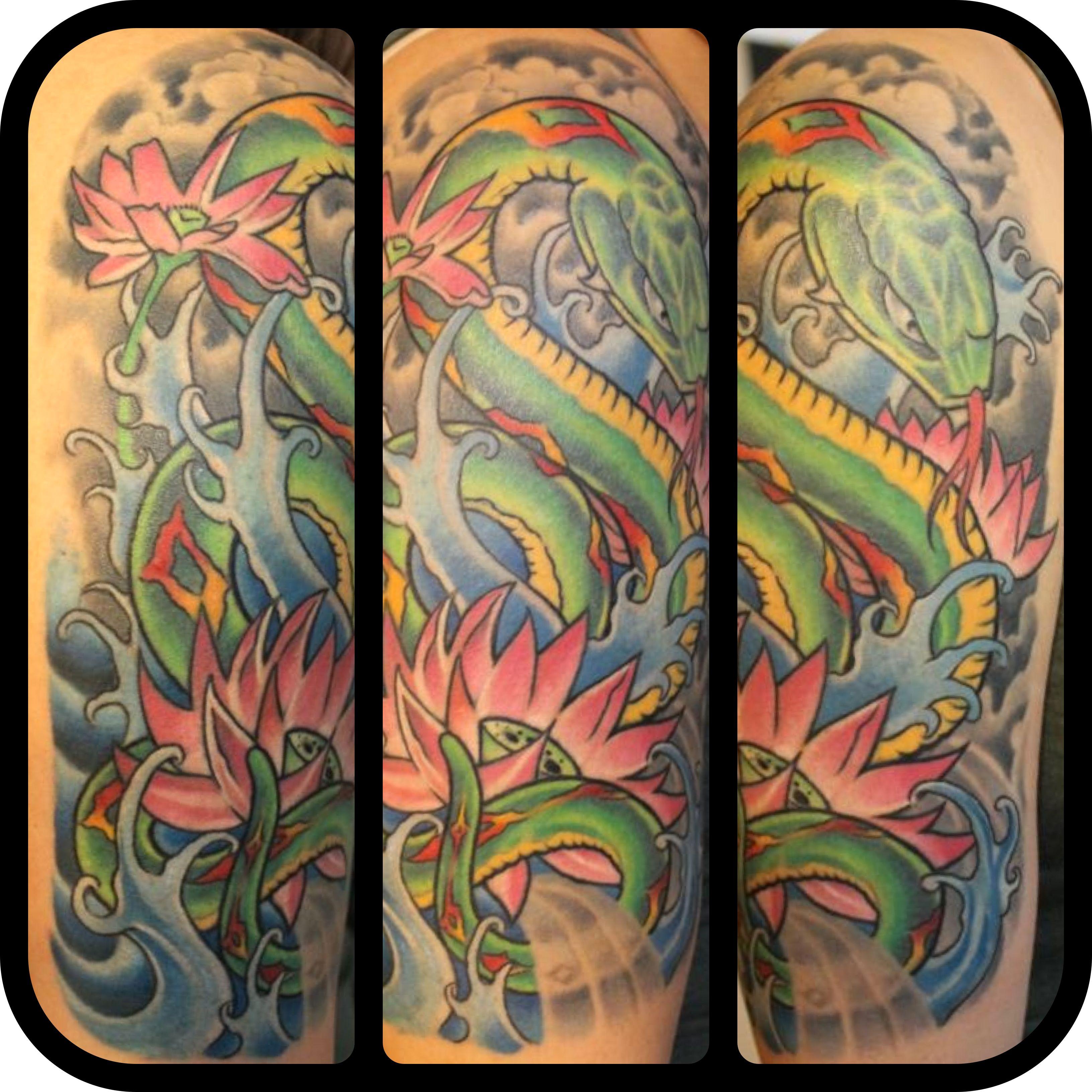 Artist matt burns shop saint tattoo knoxville tn for Saint tattoo knoxville