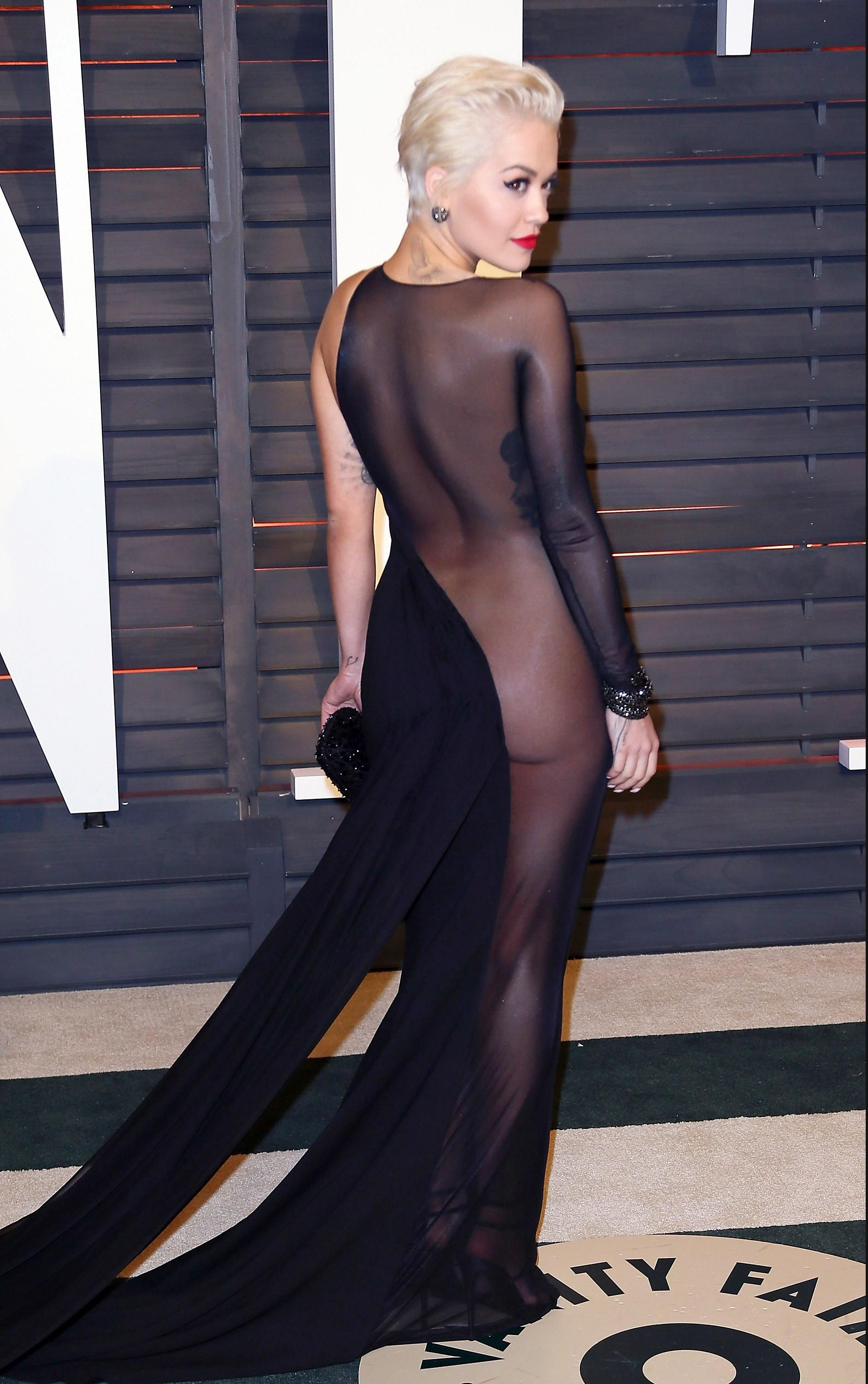 144d397c27175 Rita Ora Goes (Almost) Naked & Who Else Wore What Post-Oscars At All the  After Parties!
