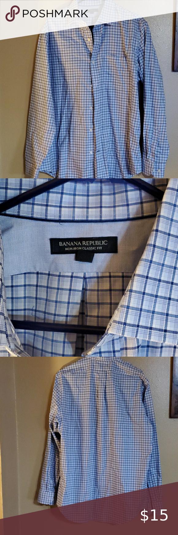 Banana republic button down