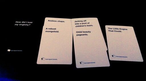 Quite possibly the best round of Cards we've had so far!