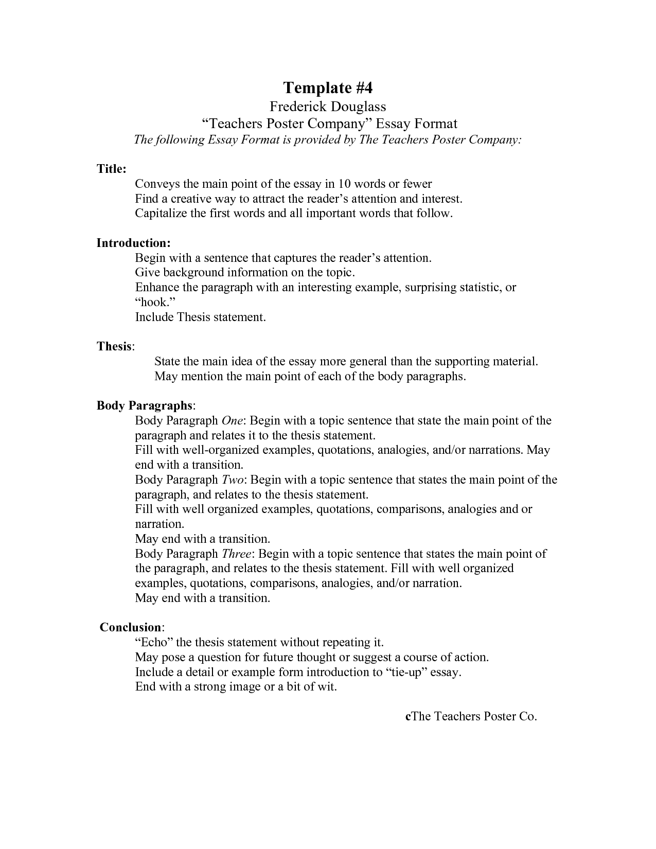 Proper outline for a cover letter
